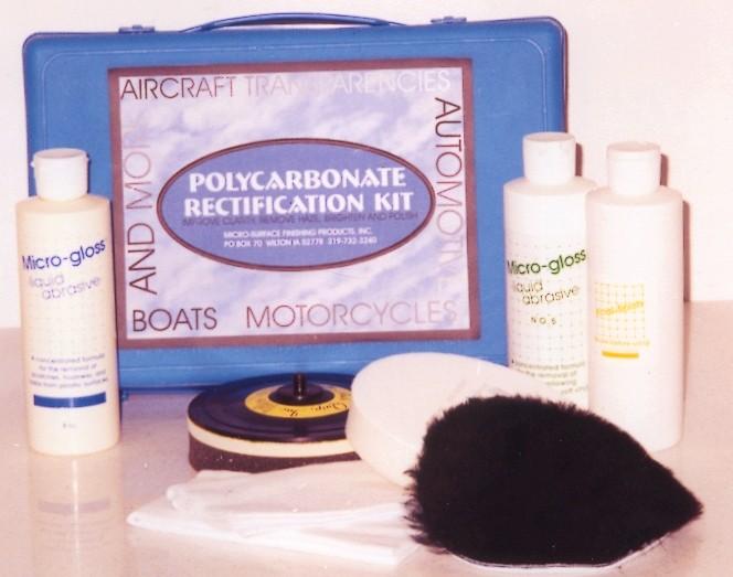 Micro-Mesh® Polycarbonate Rectification Kit for Random Orbital Sander
