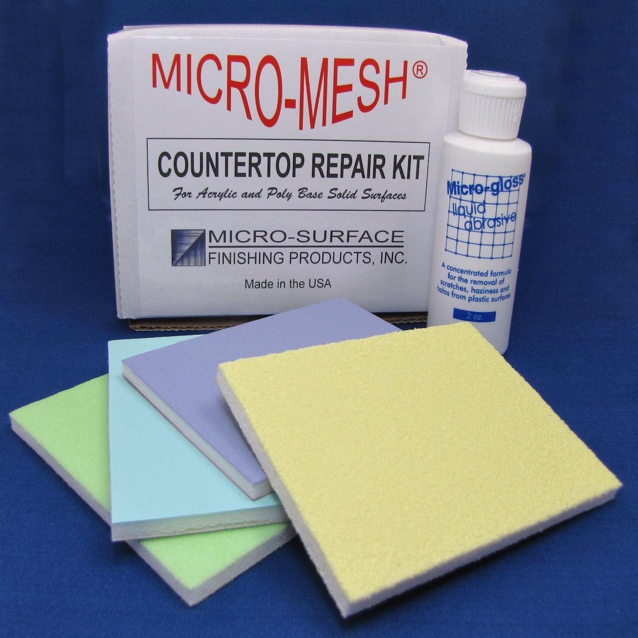 Micro-Mesh® Solid Surface Countertop Repair Kit