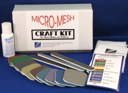 Micro-Mesh® Craft Kit for Model Makers & Hobbiests
