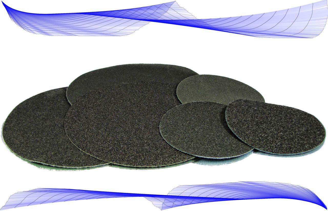 Wet Dry Sandpaper Discs, W/O Vacuum Holes; Individual