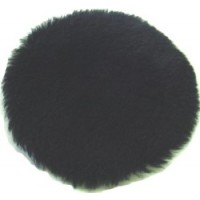 TufBuf Black Natural Lambswool Polishing Pad