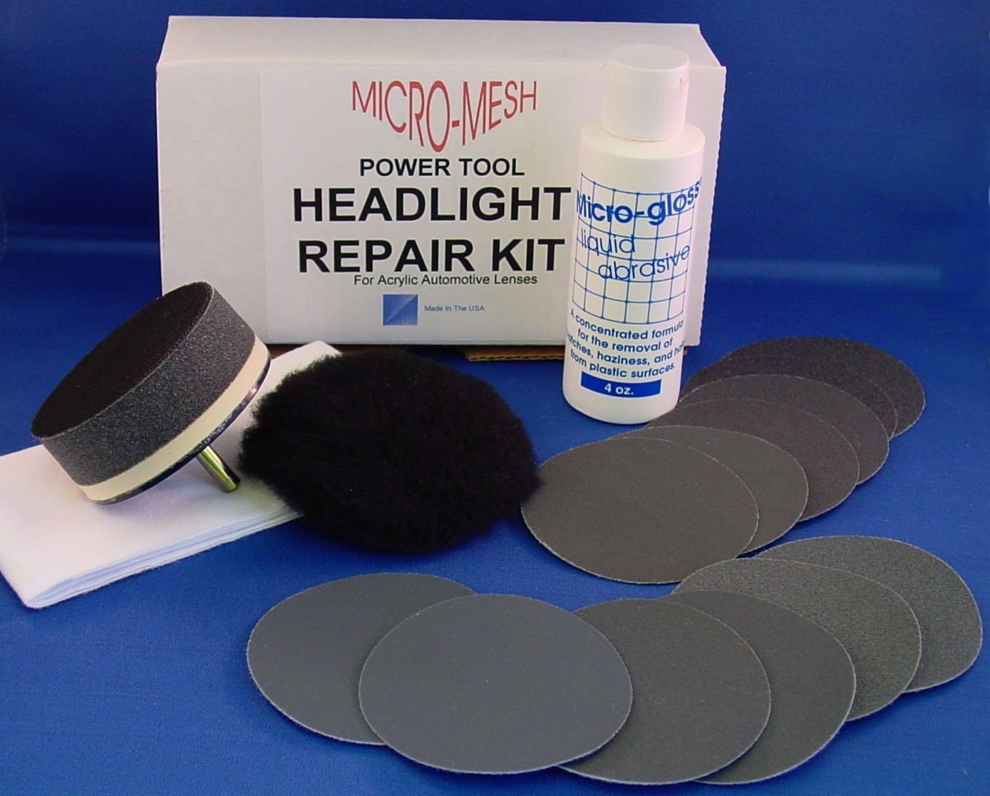 Acrylic Headlight Drill Kit