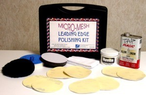 "5"" Leading Edge  Aluminum Polishing Kit"