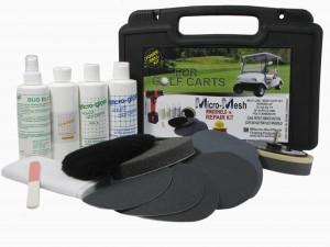 Micro-Mesh® Golf Cart Windshield Repair DRILL Kit