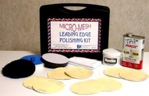 """Micro-Mesh® 5"""" Leading Edge  Aluminum Polishing Kit"""