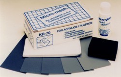 Micro-Mesh® KR-70 Acrylic/Plastic Restoral Kit