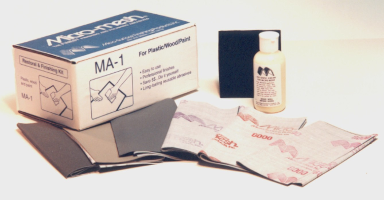 Micro-Mesh® MA-1 Acrylic Restoral Kit