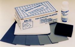 Micro-Mesh® KR-70 Acrylic/Plastic Restoral Kit-0